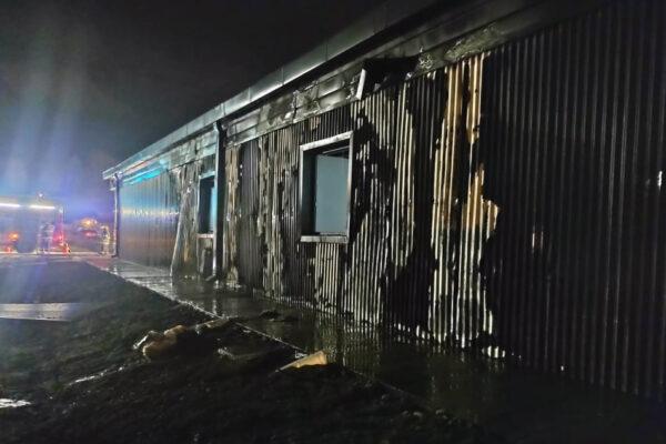 Preocupación del sector turístico por el incendio del Centro de Informes de El Bolson